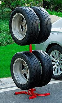 Как хранить колёса