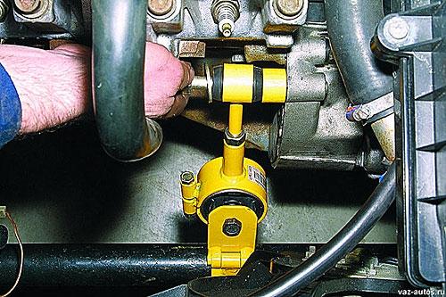 Установка дополнительной опоры двигателя на ВАЗ-2110