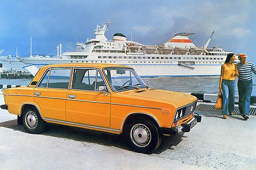 Рекламный плакат автомобиля ВАЗ-2106 (шестёрка)