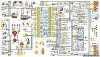 электрическая схема автомобиля ВАЗ-2107