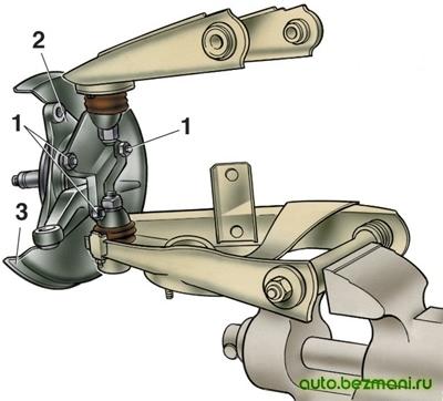 Разборка ступицы ВАЗ-2101