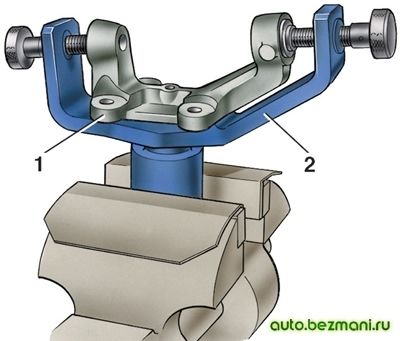 Проверка поворотного кулака ВАЗ-2101
