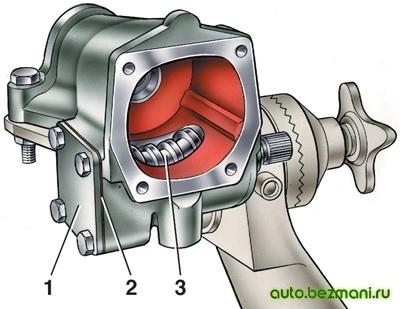 Сборка рулевого механизма