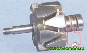 Проверка обмотки возбуждения генератора ВАЗ