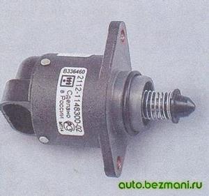 Регулятор холостого хода ВАЗ-2104, ВАЗ 2105, ВАЗ 2107