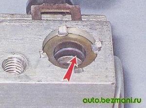 Уплотнительное кольцо топливной рампы