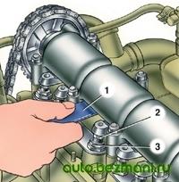 Регулировка зазора клапанов ВАЗ-2101
