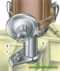 октан-корректор, регулятор угла опережения зажигания ВАЗ-2101 - ВАЗ-2107