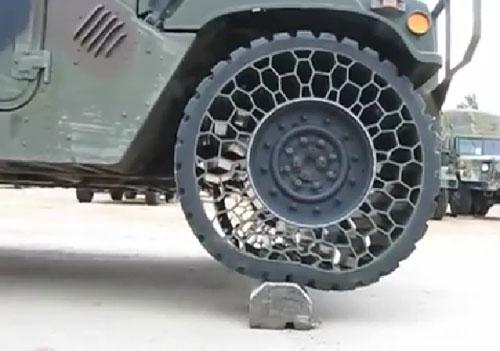 Пуленепробиваемые шины на Хаммере