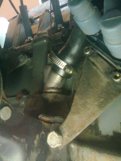 Патрубок системы вентиляции картера ВАЗ-2114