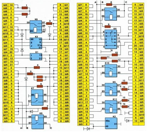 Монтажный блок 2114–3722010–08