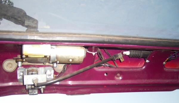 электропривод замка багажника ВАЗ-2108
