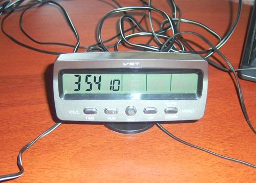 Часы VST-7042v, что внутри -