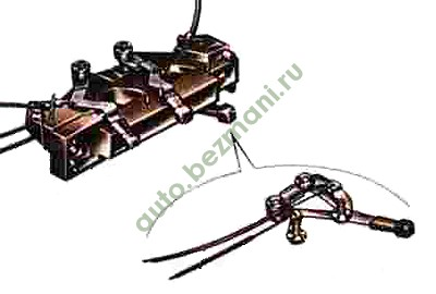 блок управления отопителем ВАЗ 2108, ВАЗ-2109, ВАЗ-21099, ВАЗ-2113, ВАЗ-2114, ВАЗ-2115