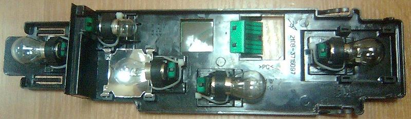 Плата ламп заднего фонаря ВАЗ-2108 - ВАЗ-2115