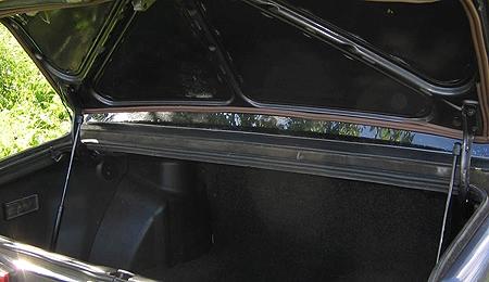 ВАЗ-2115, амортизаторы багажника