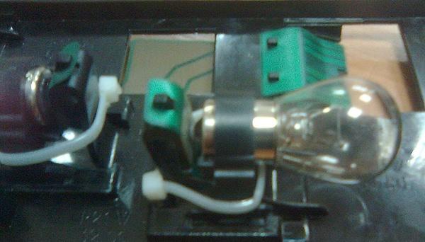 Патрон заднего фонаря усиленный пластиковой стяжкой
