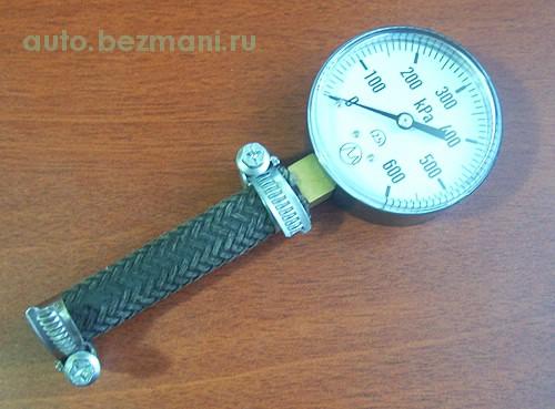 приспособление для измерения давления топлива ВАЗ-2114