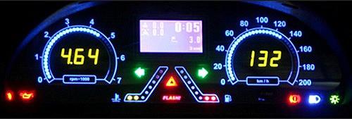 Панели приборов на Шевроле Chevrolet  Нива Лачетти