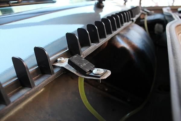 Установка форсунки омывателя от ВАЗ-2110 на Самару