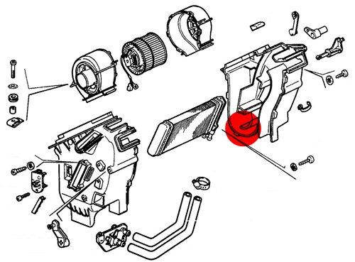 устройство отопителя ВАЗ-2108, ВАЗ-2109, ВАЗ-21099