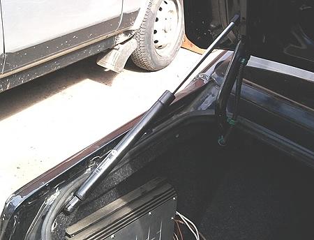 усиление торсионов багажника ВАЗ-2115