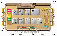 вид монтажного блока 2114–3722010–60
