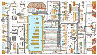 электрическая схема автомобилей ВАЗ-2113, ВАЗ-2114, ВАЗ-2115