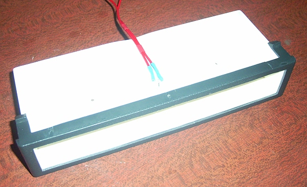 Подключение диодов подсветки.