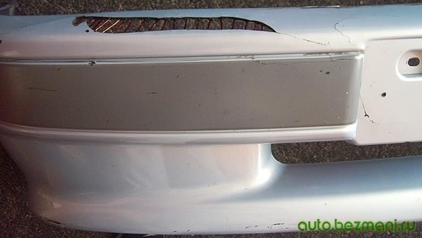 Ремонт дыр в бампере ВАЗ-2113, ВАЗ-2114, ВАЗ-2115