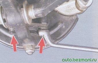 шаровой шарнир рычага передней подвески