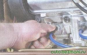 наконечник высоковольтного провода свечи