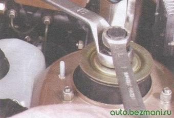 гайка крепления штока амортизатора ваз 2108, - 2109, -21099