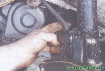 резиновый уплотнитель - тормозной шланг