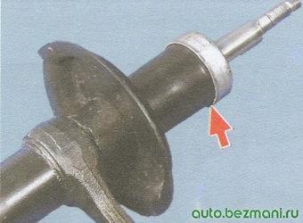 амортизатор передней стойки ваз 2108, - 2109, -21099
