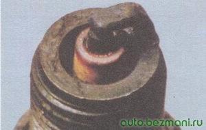 глазурь на свече зажигания