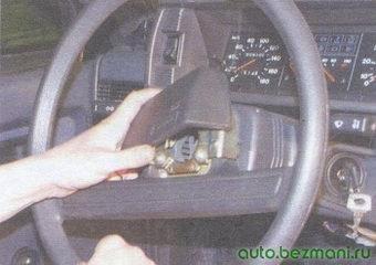 декоративная накладка рулевого колеса