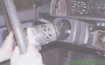 рулевое колесо автомобиля ваз 2108, ваз 2109, ваз 21099