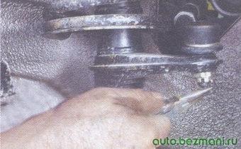 шплинт гайки крепления шарового шарнира