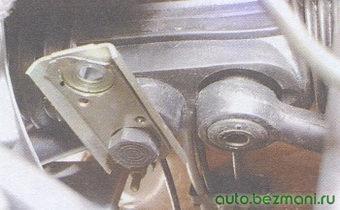 соединительная пластина рулевой тяги