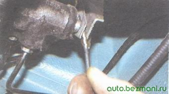 регулировка привода регулятора давления тормозов
