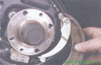 задняя тормозная колодка