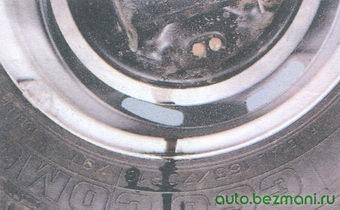 подтекание тормозной жидкости на тормозном барабане