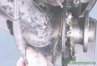 наконечник троса ручного тормоза
