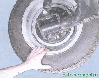 проверка стояночной тормозной системы