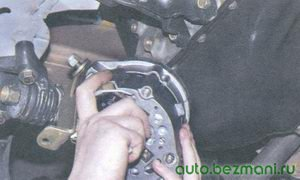 снятие генератора с автомобиля ваз 2108, ваз 2109, ваз 21099