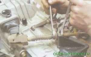 Регулировка тросика сцепления