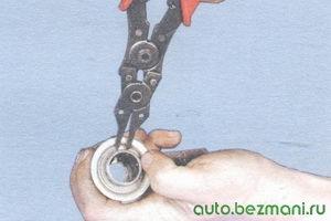 стопорное кольцо привода стартера