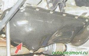 картер двигателя ваз 2108, ваз 2109, ваз 21099