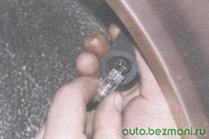 лампа бокового повторителя указателя поворота